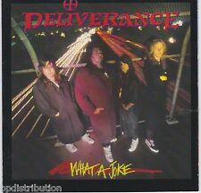 DELIVERANCE - WHAT A JOKE (CD-FLD9253, 1991, Intense Records) Original Issue!!!