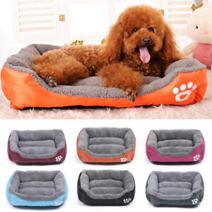 Pet-Dog-Bed-Cat-Puppy-Warm-Cotton-Nest-Beds-House-Kennel-Soft-Pet-Mat-Pad-S-M