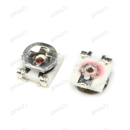 EVM3GSX50B14 10 Pack SMD Potentiometer Variable Resistor 3X3 ±20/% 100R Clip Pot