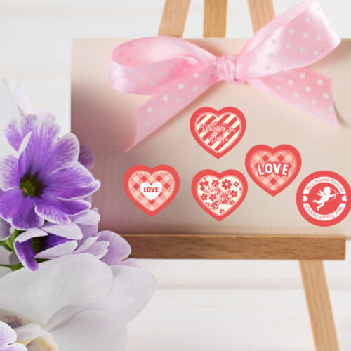 20 Sheets Valentine/'s Day Stickers Self-adhesive Sealing Sticker for Furniture