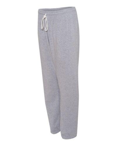 Bella Unisex Long Scrunch Fleece Pant Canvas 3737