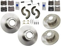 Mercedes W115 W123 300d 1979-1985 Premium Quality Complete Brake Kit Discs Pads on sale