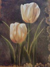 "Art Print: "" 2 Tulips"" By Rumi. 16 X 20 Nice Heavy Print"
