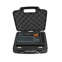 Tough Recorder And Accessory Hard Case W/ Dense Foam For Tascam... Free Shipping