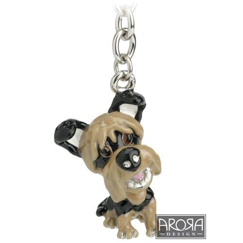 Key Ring Little Paws Yorkshire Terrier  Yorkie Dog Keyring NEW 14732