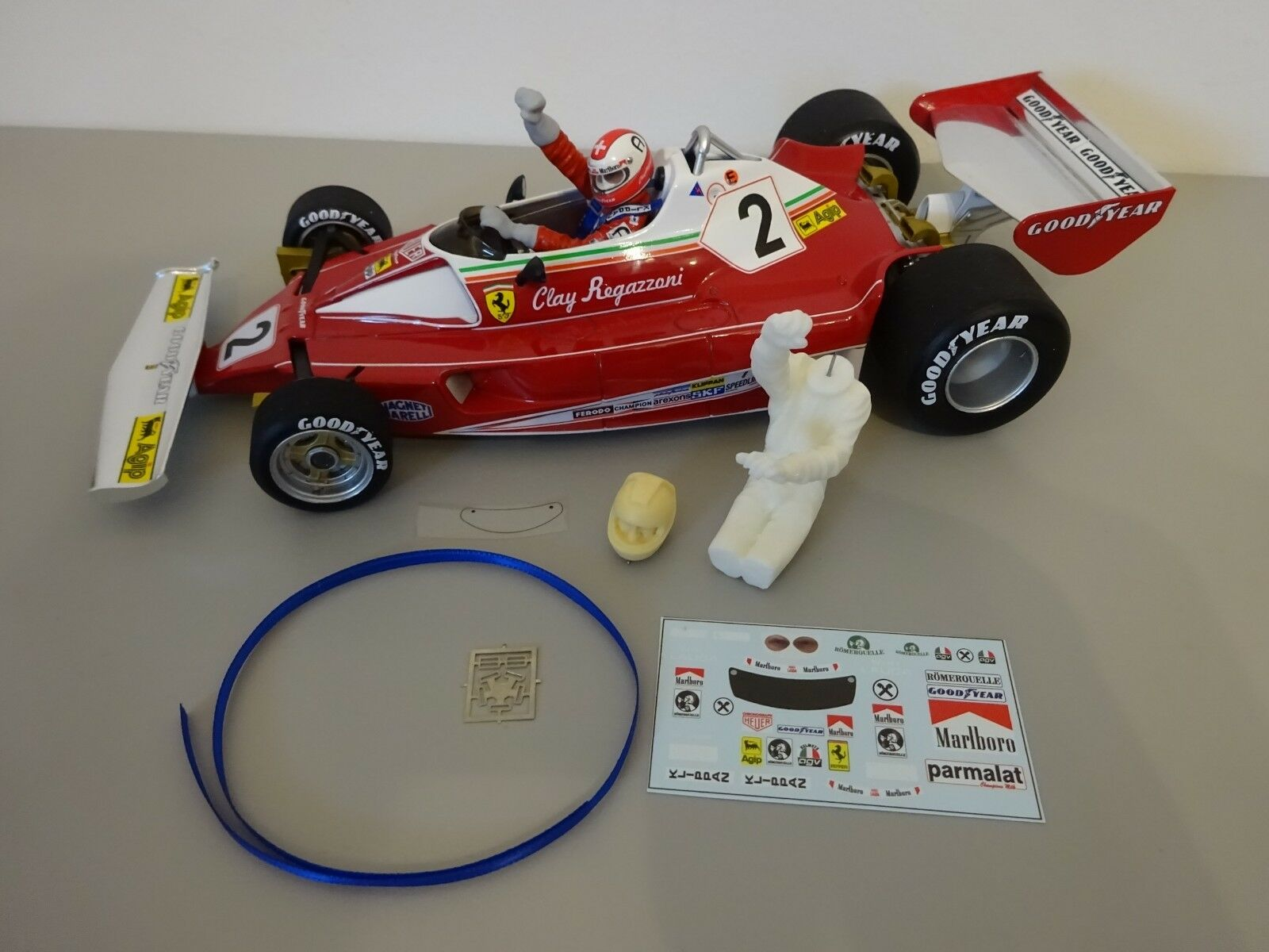 Figure Kit for Ferrari 312T2   Niki Lauda   1976 1 18  | New Product 2019