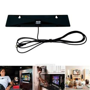tv d codeur tnt hd antenne plat int rieure bo te dtv hdtv 1080p vhf uhf ebay. Black Bedroom Furniture Sets. Home Design Ideas