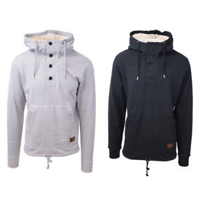 Billabong-Men-039-s-L-S-Pullover-Sherpa-Hoodie-Retail-65-XS