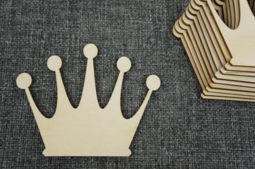 10 x Prinzessin Krone Königin Dekoration Handwerk Basteln Kreativ Malen //w31//