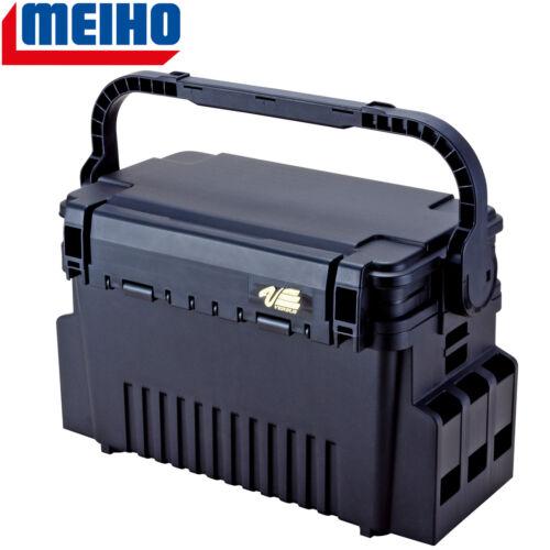 Meiho VS-7070 schwarz 35,6x18,6x21cm Angelkoffer Kunstköderbox Tacklebox