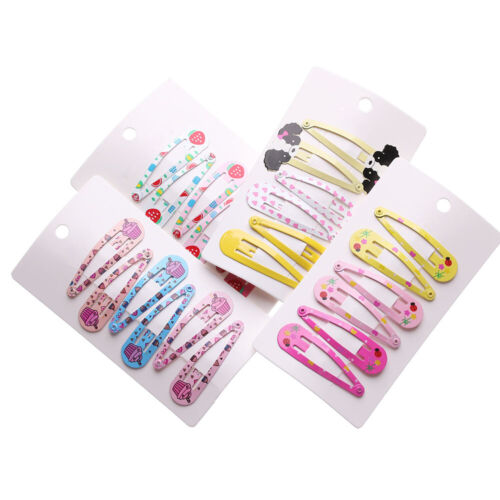 Multicolor Baby Girls Cute Hairpins BB Hair Clips Metal Barrettes Hairgrips