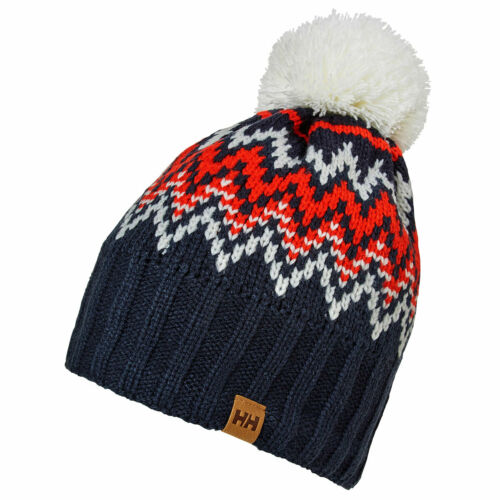 Helly Hansen Womens Powder Fleece Lined Pom Beanie Hat 32/% OFF RRP