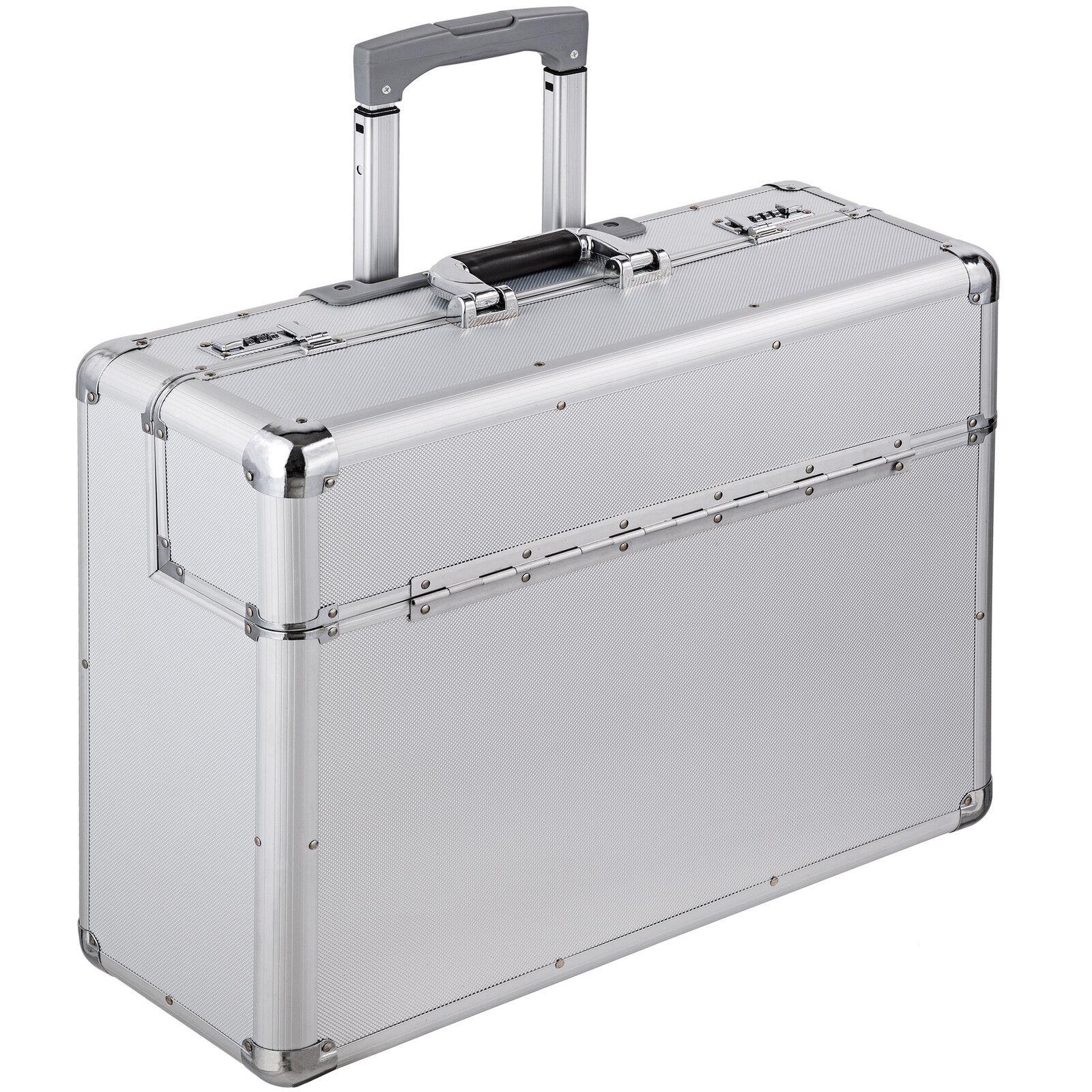 XL pilot case trolley valise mallette de pilote sac à roulettes poignée