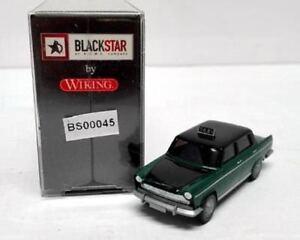 BLACKSTAR-BS00045-FIAT-1800-034-TAXI-034-verde-tetto-e-cofano-nero-scala-HO-1-87