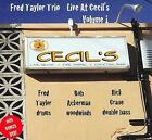 Live at Cecil's, Vol. 1 [Slipcase] * by Fred Taylor (CD, 2009, Fred Taylor Music)