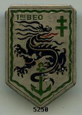 Insigne Troupes coloniales , 1  BEO.  ( 38x26, croix verte )