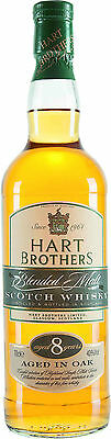 Hart Brothers 8 Jahre,  American Oak, Blended Scotch Whisky, 0,7 l.