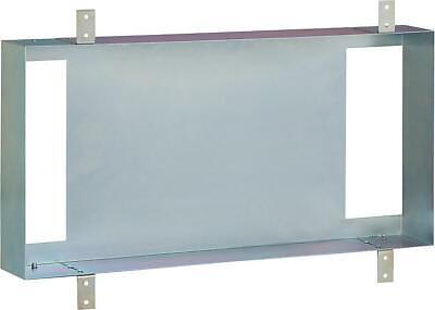 Stahl-Einbaurahmen vertikal oder horizontal montierbar BxHxT 310x600x115mm