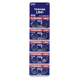 Toshiba-Lr41-Ag3-1-5v-Alkaline-Battery-1pack-10pc-Batteries-Made-in-Japan