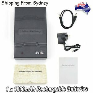Portable-1800mAh-12V-Lithium-Super-Rechargeable-Battery-Pack-DC-for-LED-boards