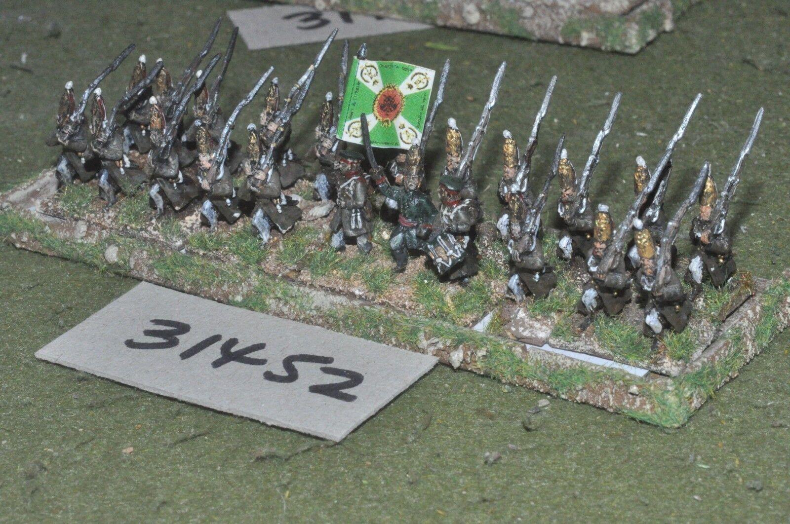 15mm napoleonic   russian - grenadiers 24 figures - inf (31452)
