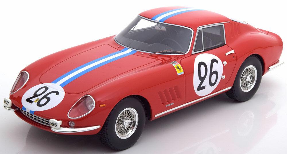 Cmr Ferrari 275 Gtb 24h Le Mans 1966 Biscaldi   Bourbon Palme  18