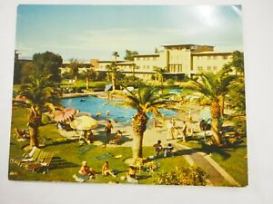 The-Hotel-Flamenco-Olympic-Talla-Piscina-Oversize-Postal-14cmx-17-8cmcirca-594ms