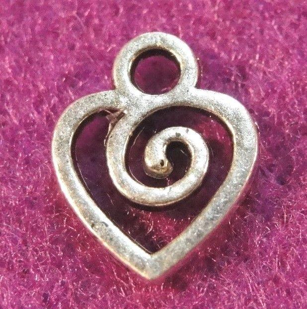 40pcs Tibetan silver little cross charms h2694