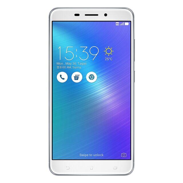 Asus ZenFone 3 Laser (ZC551KL) Dual-SIM Smartphone 5,5 Zoll (14 cm) 32GB silber