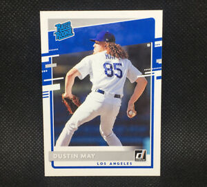 2020-Donruss-Dustin-May-RC-Los-Angeles-Dodgers-Rated-Rookie-32