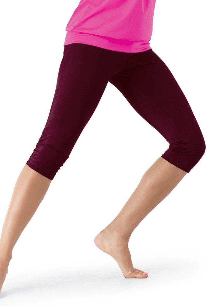 NWT Booty SHORTS ch//adult Dance Gymnastics matte spandex Main Street Gripper Leg