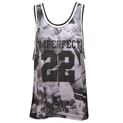 8823u Imperfect Traforata Shirt WomanEbay Donna Sleeveless Canotta T CxBrdeWo