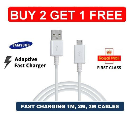 S7 Note 4//5 Fast Charger USB Data Cable Charging Cable Samsung Galaxy S6 Edge