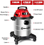 thumbnail 5 - Vacmaster Red Edition VOC508S 1101 Stainless Steel Wet Dry Shop Vacuum 5 Gallon