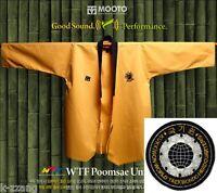 Mooto Wtf Poomsae Uniform Taebek High Dan Dobok Kukkiwon Taekwondo Tae Kwon Do