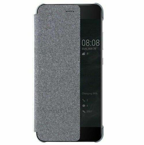 Original Huawei P10 Plus Smart View Cover Case - Light Gray for sale online   eBay