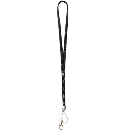 Fashion Lanyard For ID Card Mobile Phone Metal Neck Strap Swivel Free Shipping T