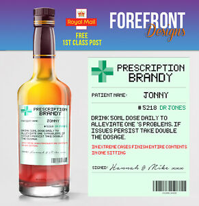 Personalised-Prescription-brandy-spoof-bottle-label-Birthday-Wedding-Gift