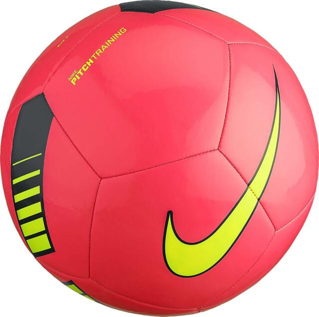 the sale of shoes innovative design 2018 shoes NIKE Pitch Training Soccer Ball, SC3101 639 Size 5 Hyper Pink ...