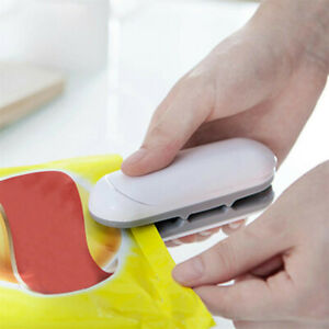 Tragbare Haushalts-Mini-Heißsiegelmaschine Impulse Plastic Poly Bag Sealer