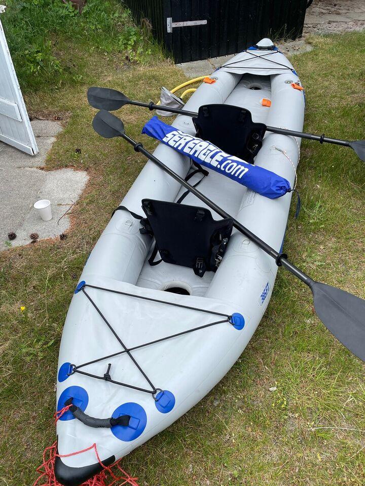 Kajak, Oppustelig Kajak, SeaEagle 385 FastTrack kayak