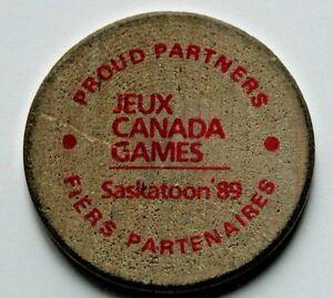 Saskatoon-Jeux-Canada-Games-1989-Wood-Medal-University-Hospital-wooden-nickel