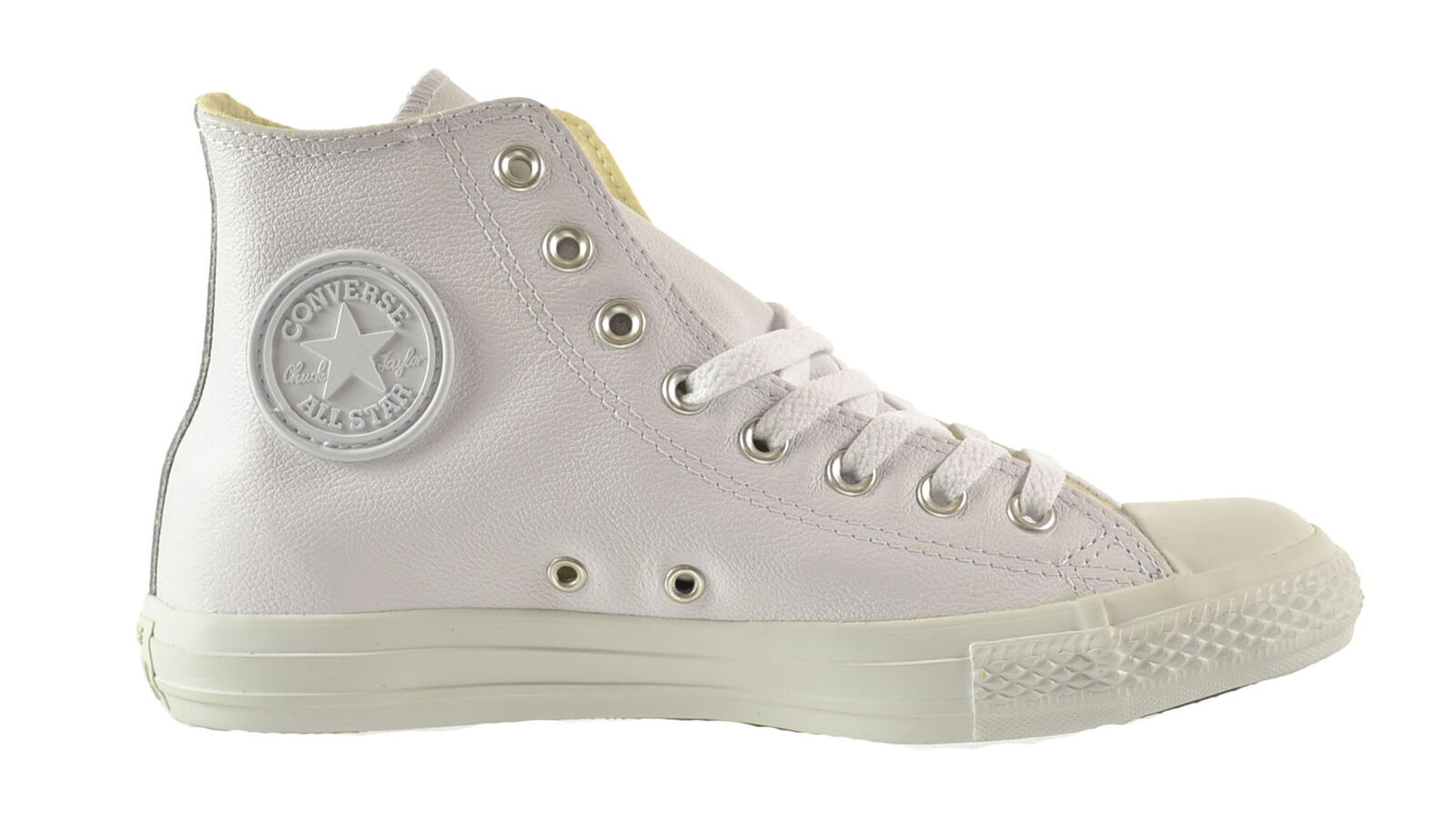 Converse Chuck Taylor A S S S Leather High Unisex shoes White 1t406 f45ce8