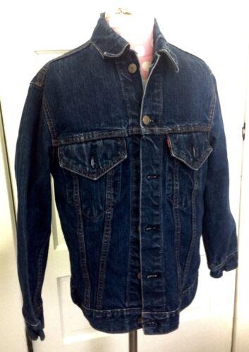 Vintage Levis Men's Denim Jacket Big E Type III 2-