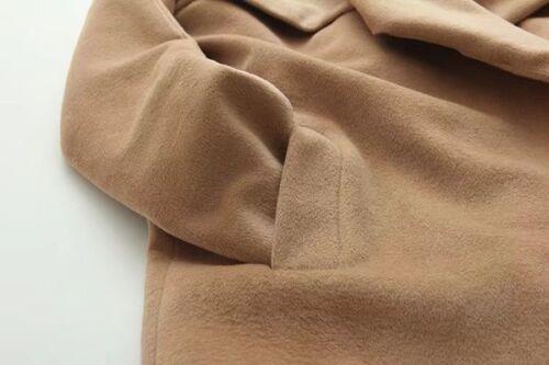 Long Beige Femme Veste Confortable Chaud 1296 Manteau wpawqXAt