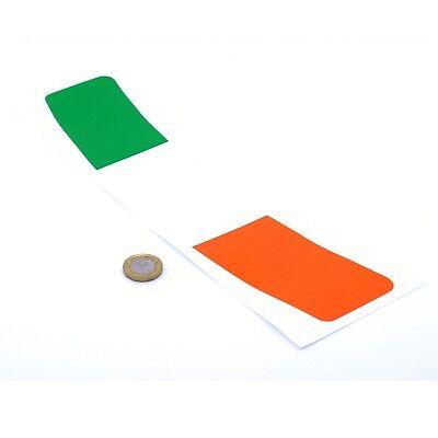 Ireland Flag Helmet Visor Sunstrip Sticker Motorcycle Irish Bike