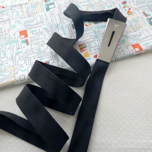 "18mm NEW STRETCH Handmade 3//4/"" Wide Bias Binding Tape ~ Plain"
