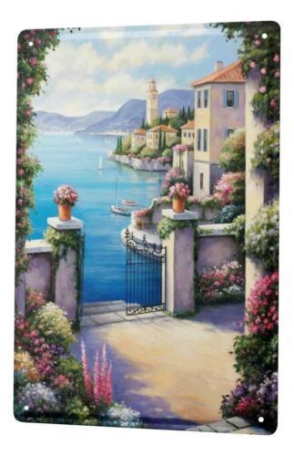 Tin Sign Flower Shop  Floral City Sea