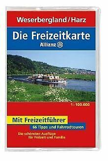 Die Allianz Freizeitkarte Weserbergland, Harz 1:100 000 ... | Buch | Zustand gut