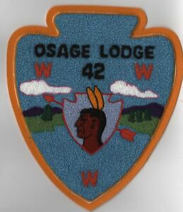 OA-Lodge-42-Osage-Lodge-C1-Chenille-RARE-Ozark-Area-Council
